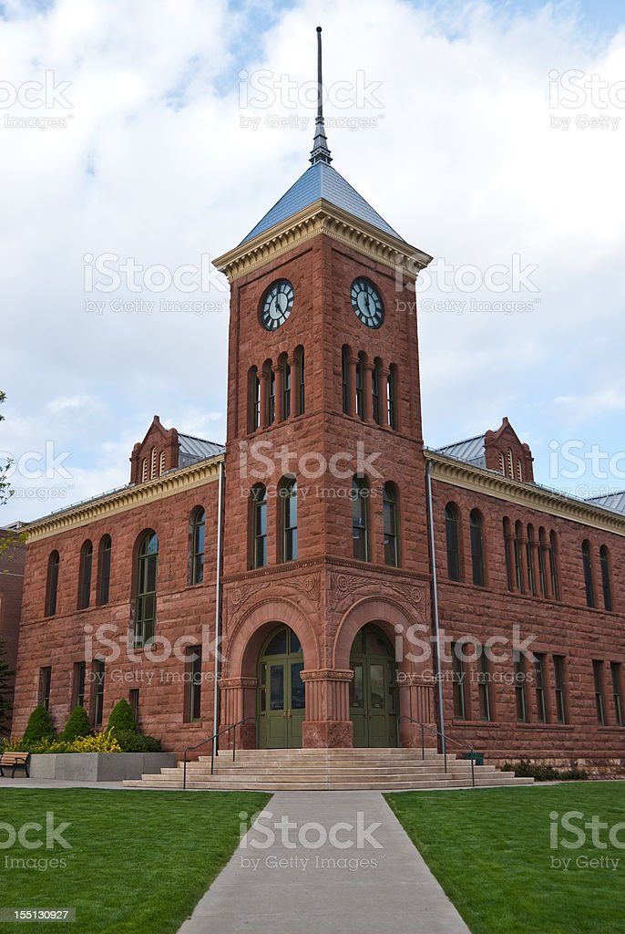 Coconino County Courthouse royalty-free stock photo