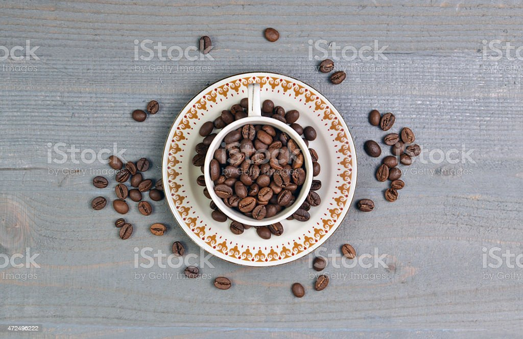 The Coffee Bean stock photo