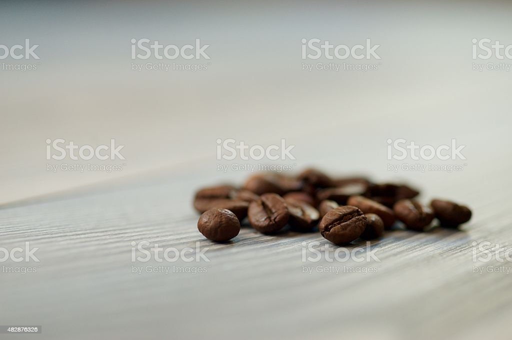 The coffee plant and its fruit stock photo