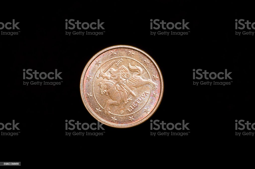the coins close up foto royalty-free