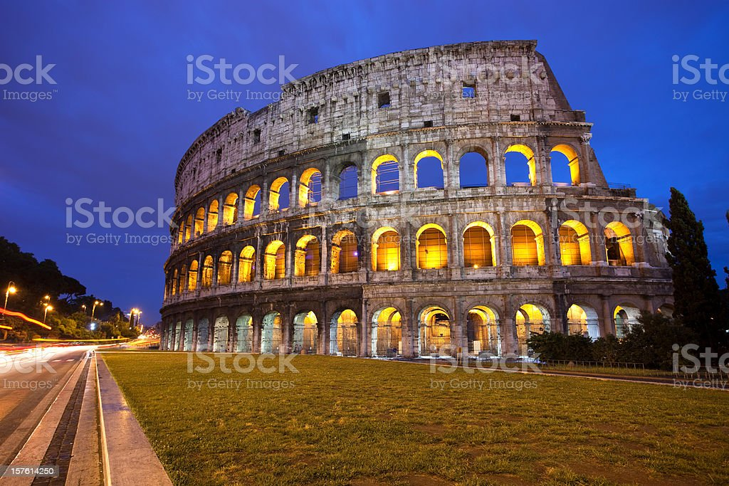The Coliseum royalty-free stock photo