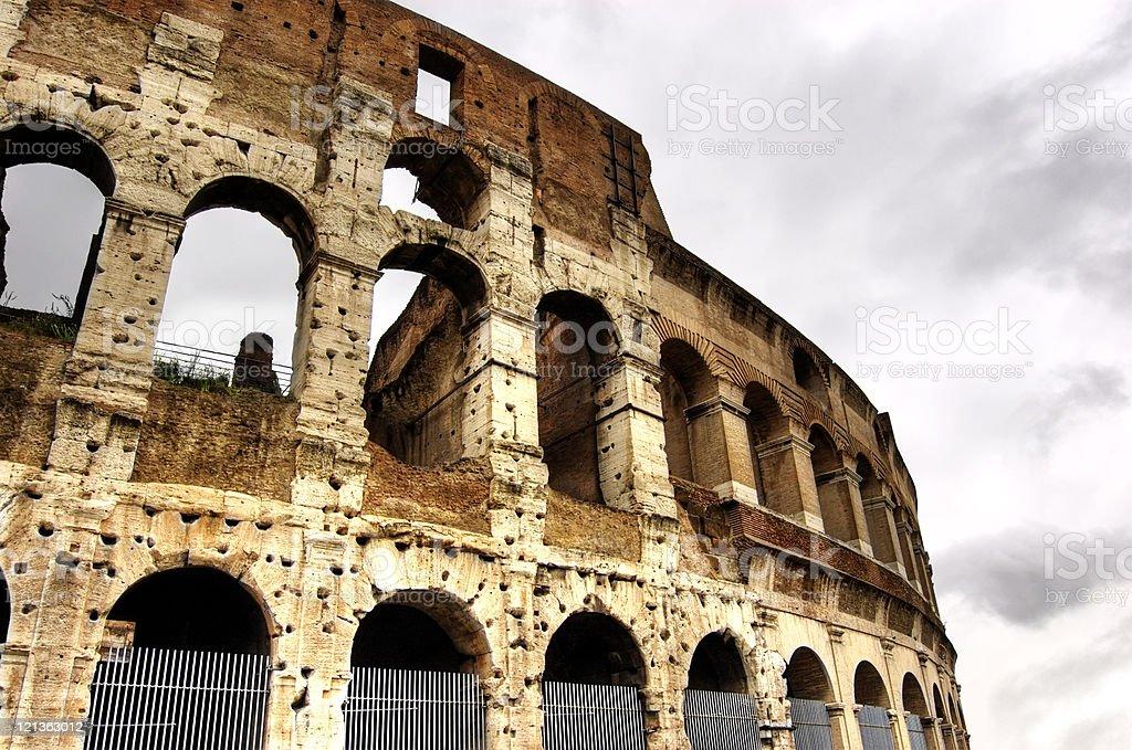 The Coliseum, Rome, Italy. stock photo