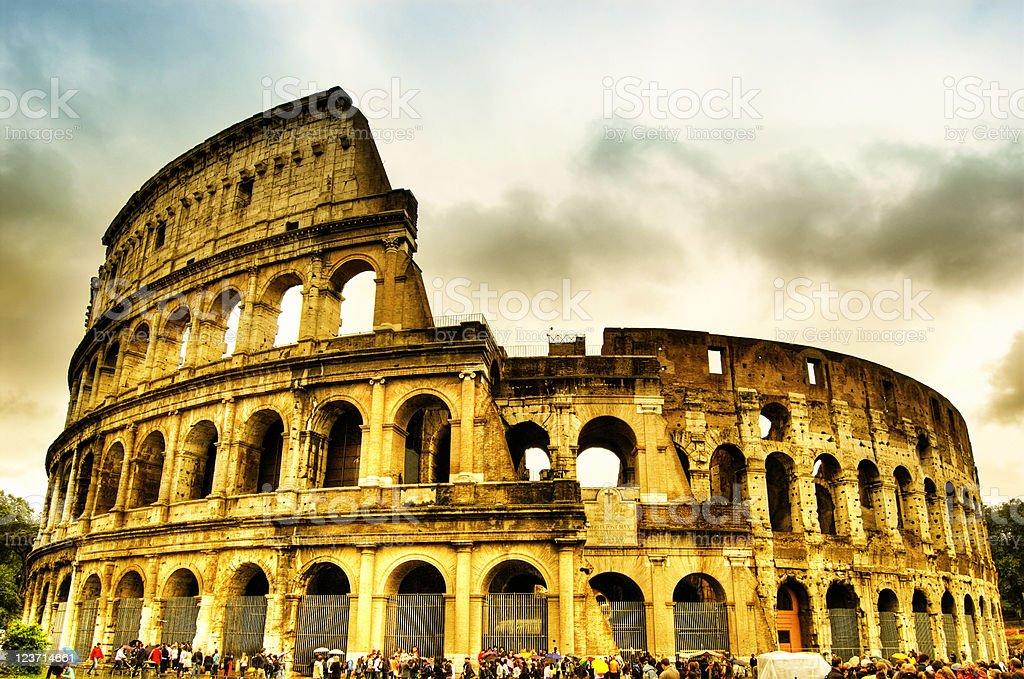 The Coliseum, Rome, Italy. royalty-free stock photo