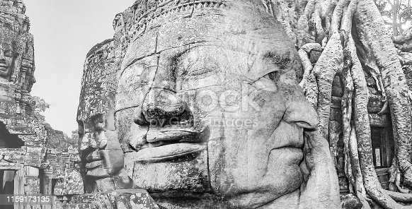 1147569123istockphoto The collage from images of Angkor Wat in Cambodia 1159173135