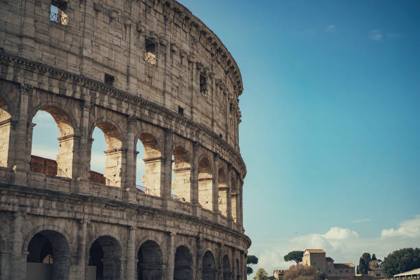 The Colleseum The Colleseum coliseum rome stock pictures, royalty-free photos & images