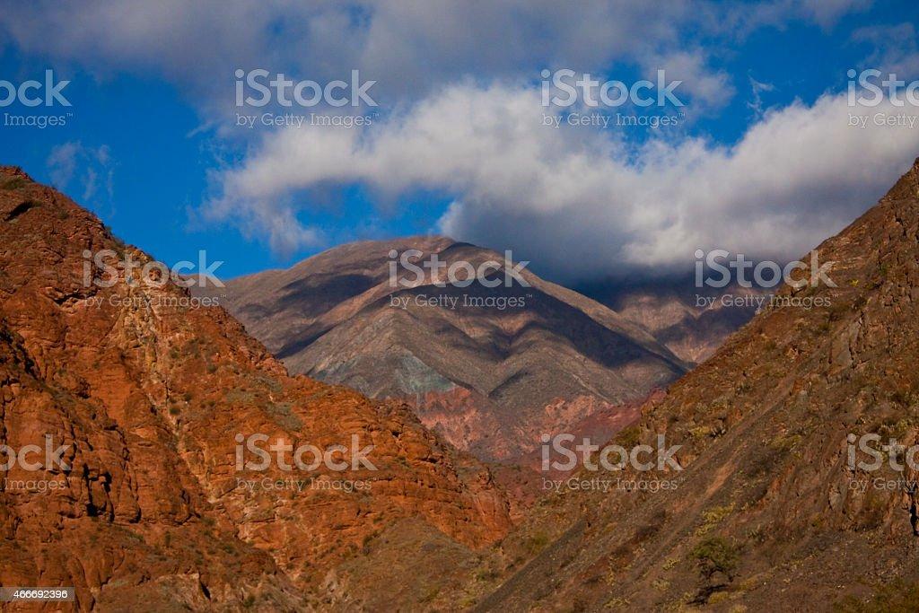 the color mountain stock photo