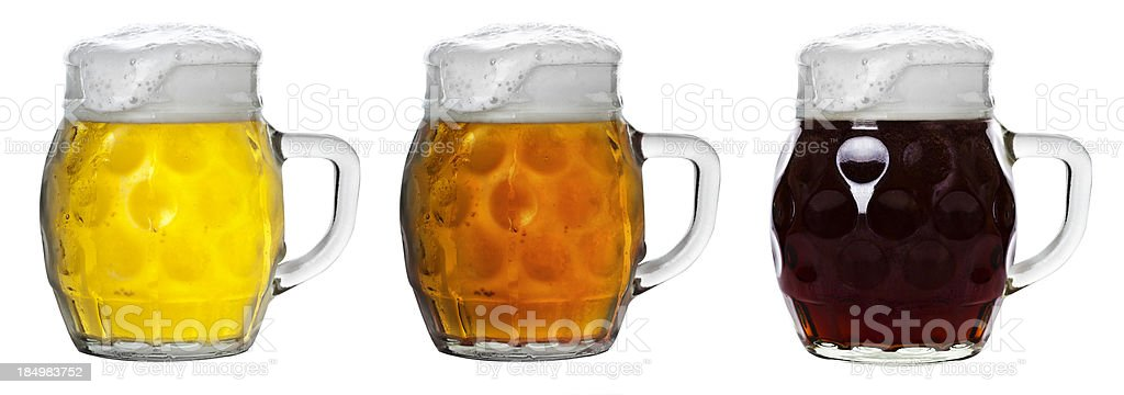 The Color Of Beer stock photo