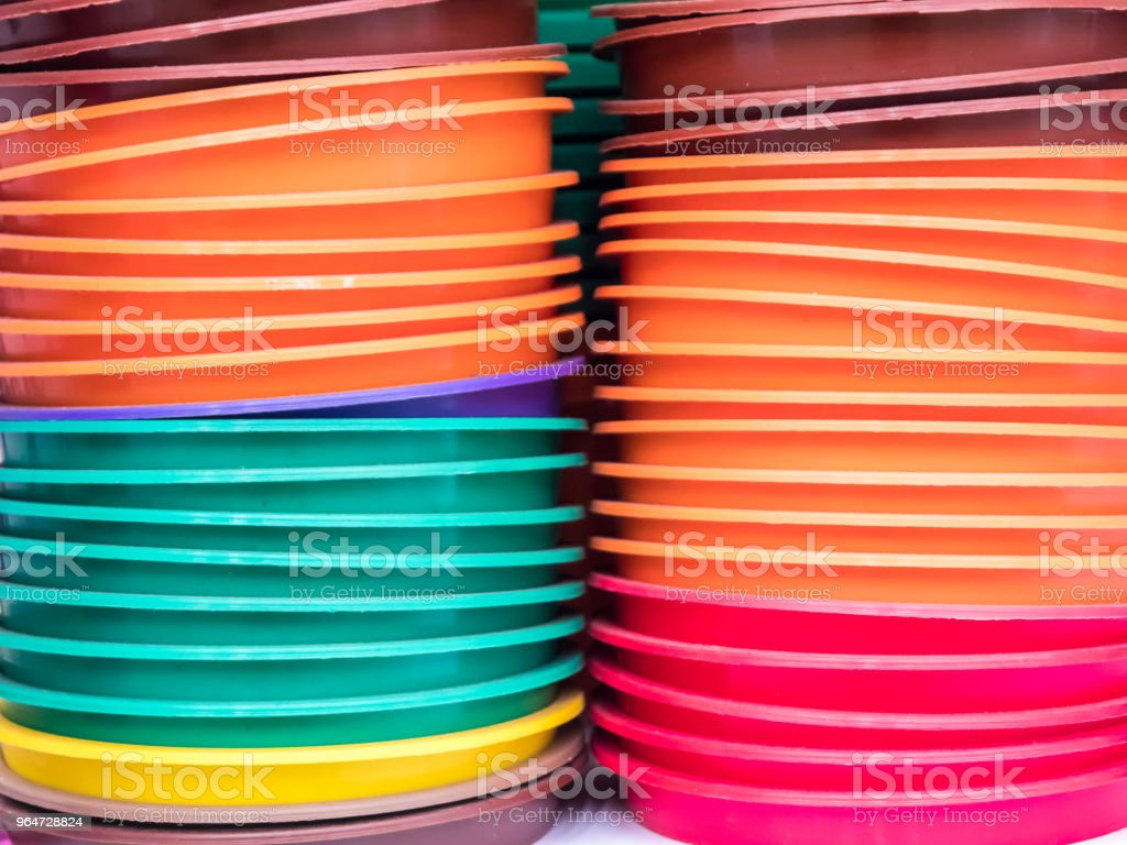 The color of plastic tray royalty-free stock photo