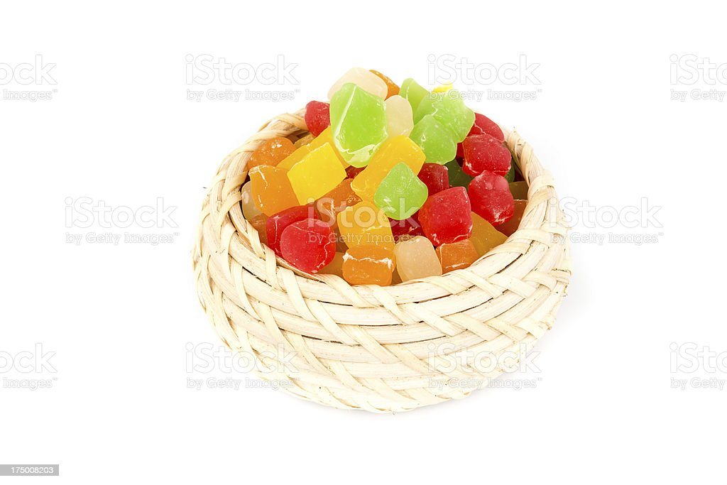 The colored candy royalty-free stock photo