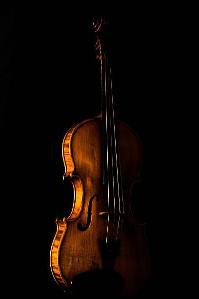 The Colored Violin stock photo