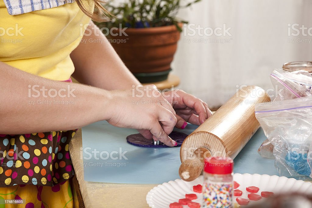 The Colorful Baker royalty-free stock photo