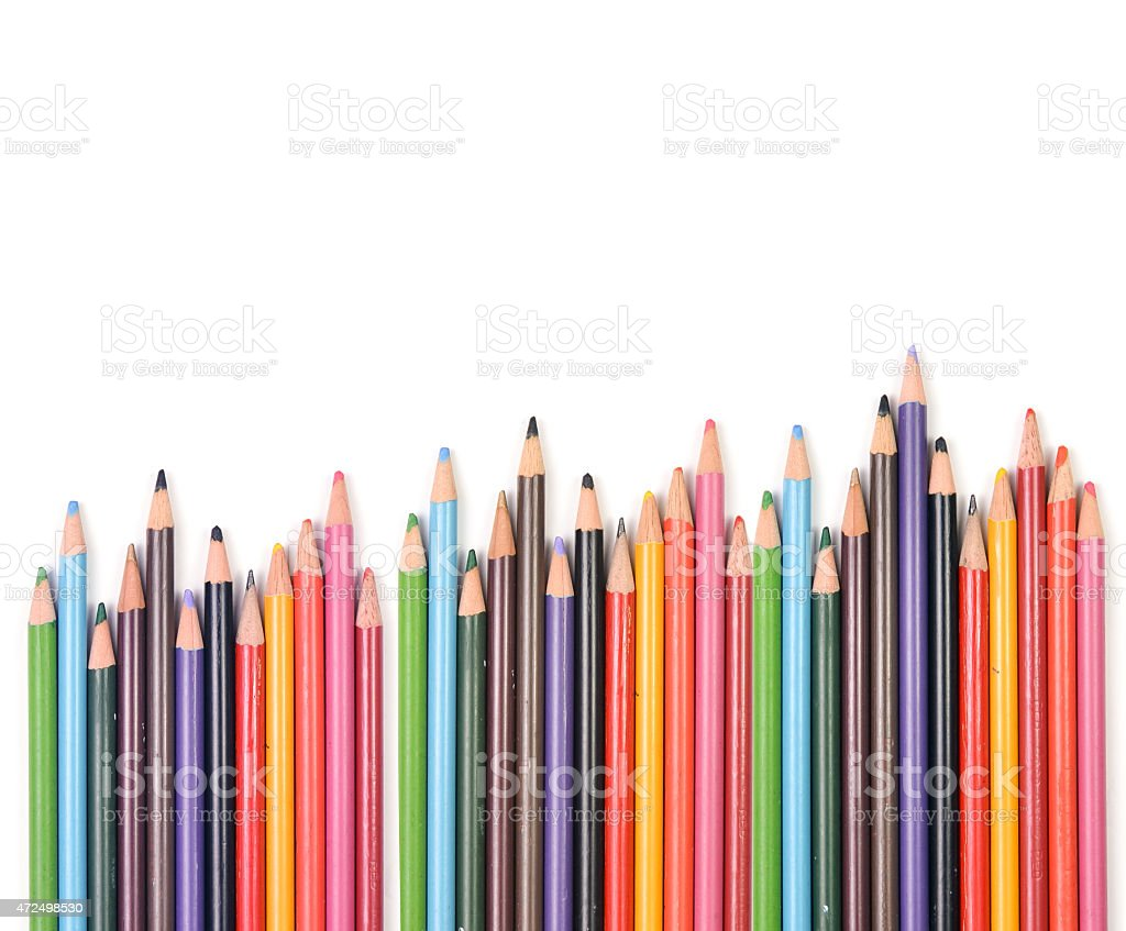 The Coloring Pencil stock photo