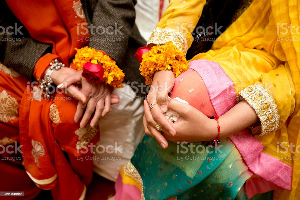The colors of India stock photo