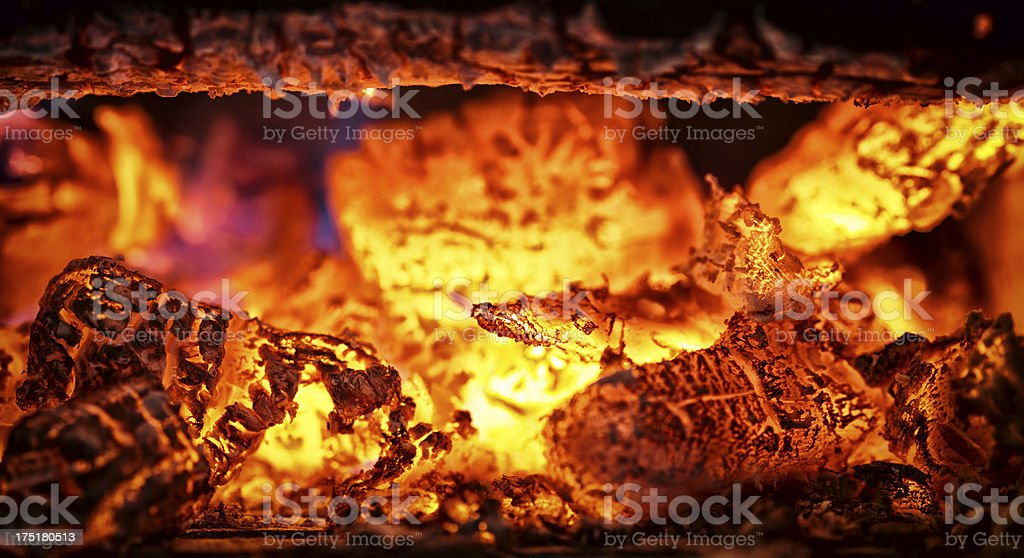 the colors of inferno stock photo