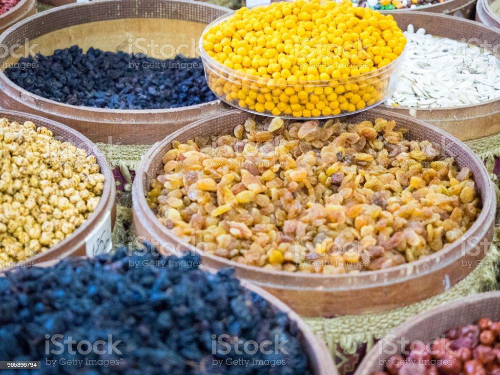 터키의 오래 된 도시에서 거리 시장의 색상. - 로열티 프리 거리 스톡 사진