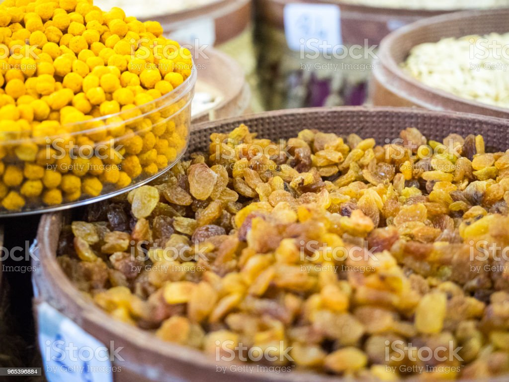 The colors of street markets in old cities of Turkey. royalty-free stock photo