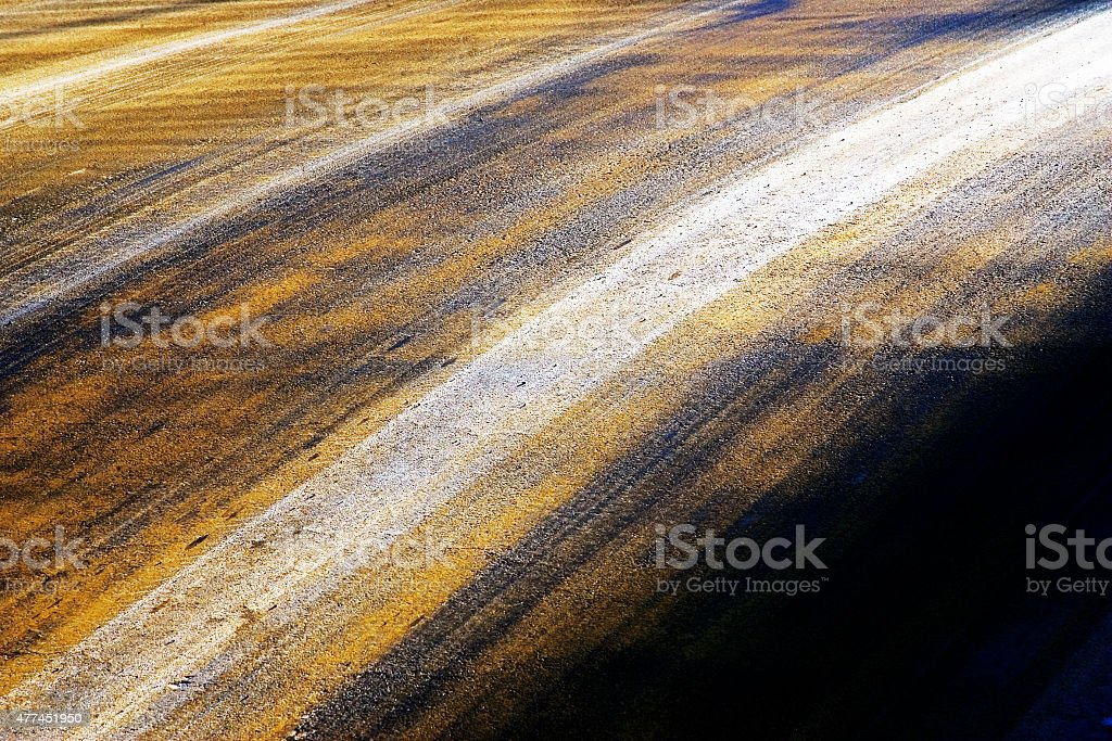The colors of the farmland stock photo