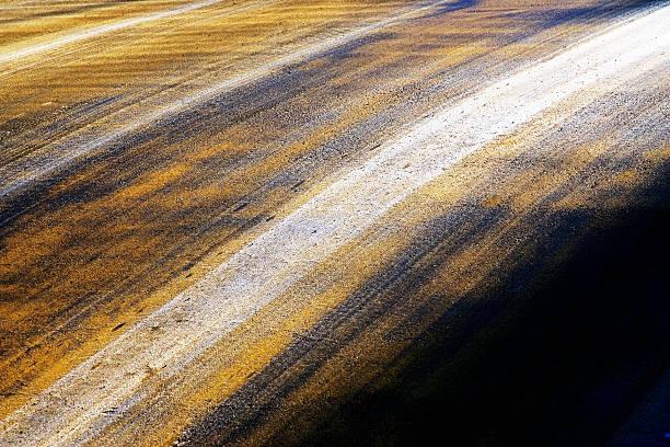 The colors of the farmland stock photo