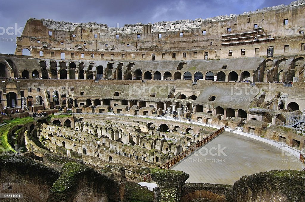 The Colosseum. Italy. royalty-free stock photo