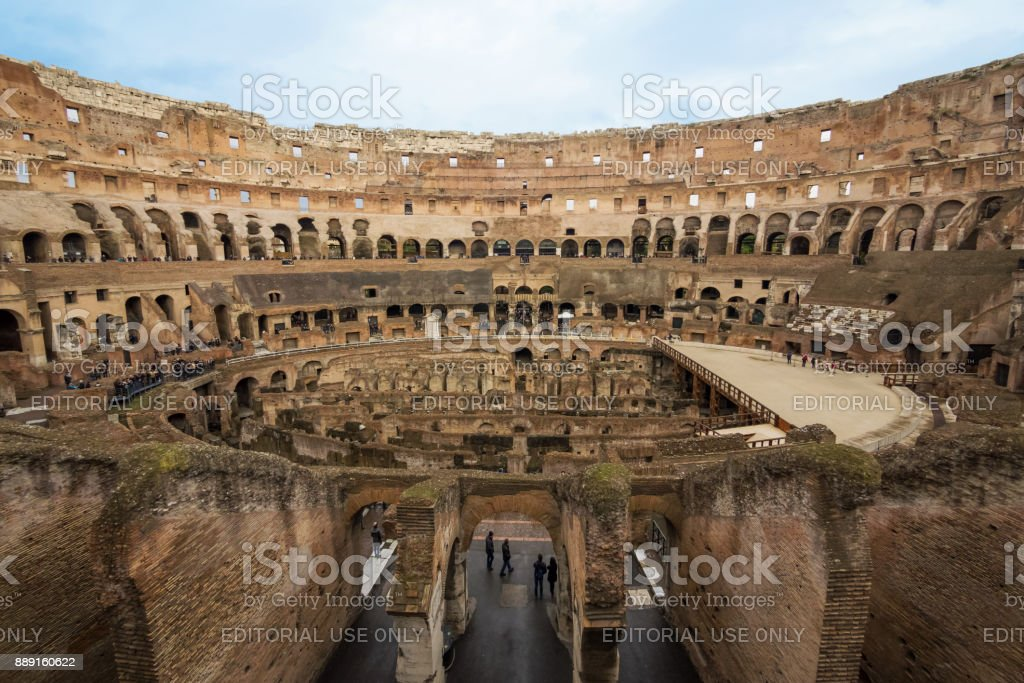 The Colosseum of Rome stock photo