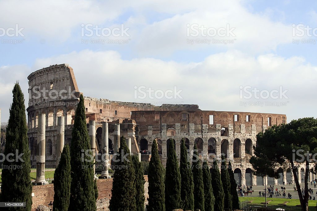 The Colosseum #5 royalty-free stock photo