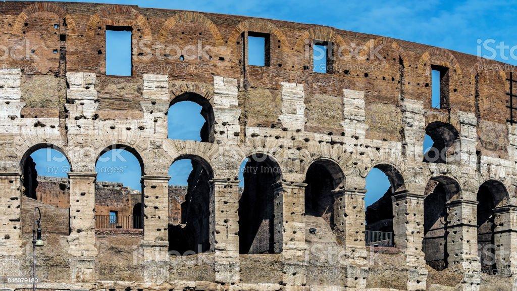 The Colosseum stock photo