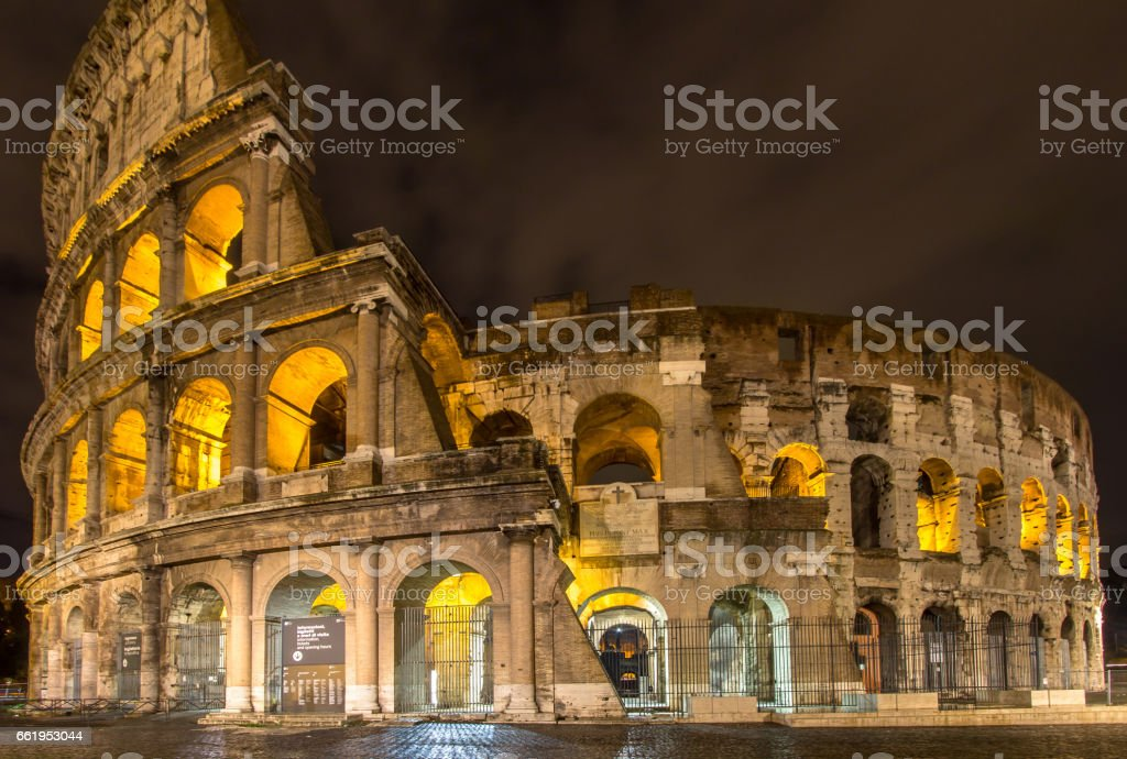 The Colosseum, Rome, Italy royalty-free stock photo