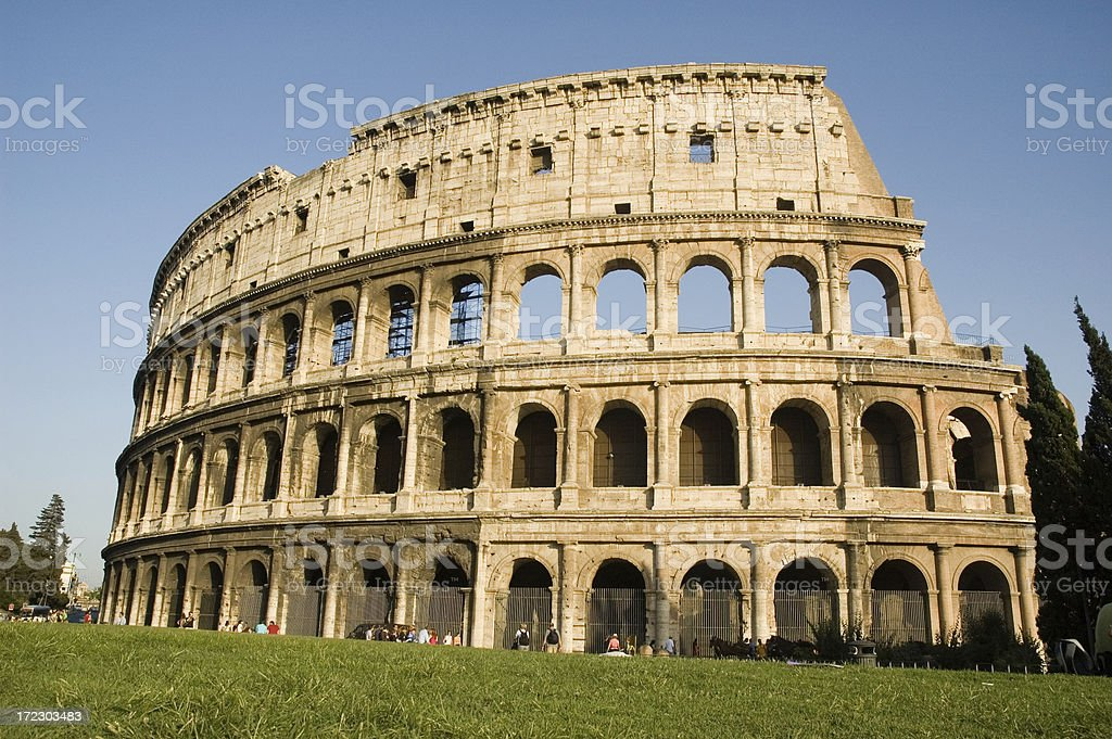The Colosseum, Rome. royalty-free stock photo