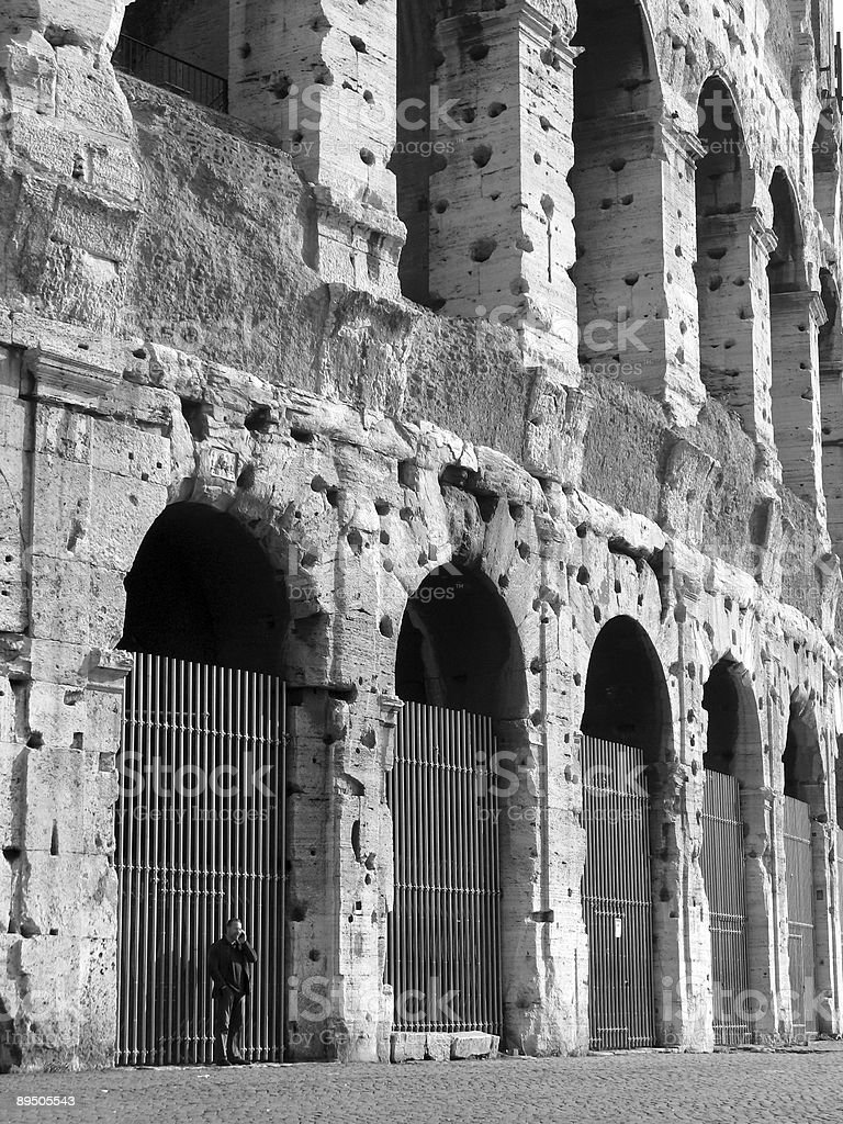 Il Colossuem, Roma foto stock royalty-free
