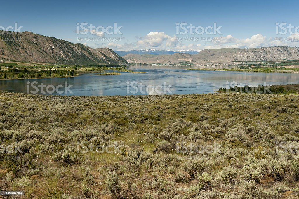 The Columbia River stock photo