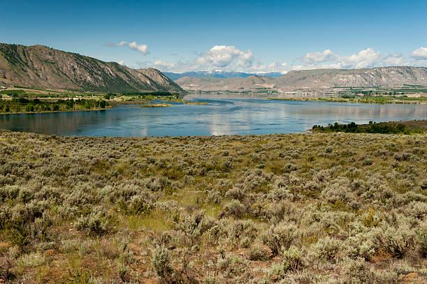 El río Columbia - foto de stock