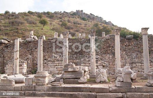 istock The columns in Ephesus 474959100