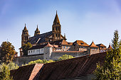 The Comburg near Schwaebisch Hall is a magnificent example of a former Benedictine monastery