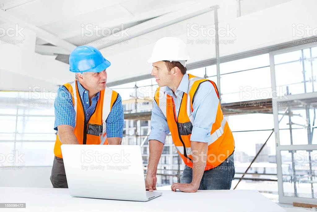 The coming together of two minds royalty-free stock photo
