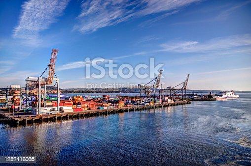 istock The commercial port of Belfast Ireland 1282416035