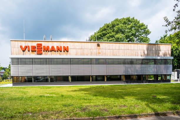 Die Firma Viessmann produziert und verkauft alles Heizung angeschlossen – Foto