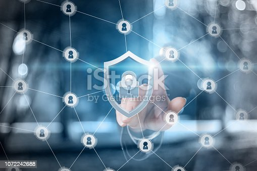1156072209istockphoto The concept is the security system principle. 1072242688