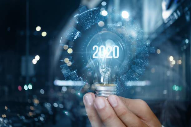 2020年の新事業のコンセプト。 - 金融と経済 ストックフォトと画像