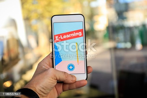 The concept of e-learning. Education online
