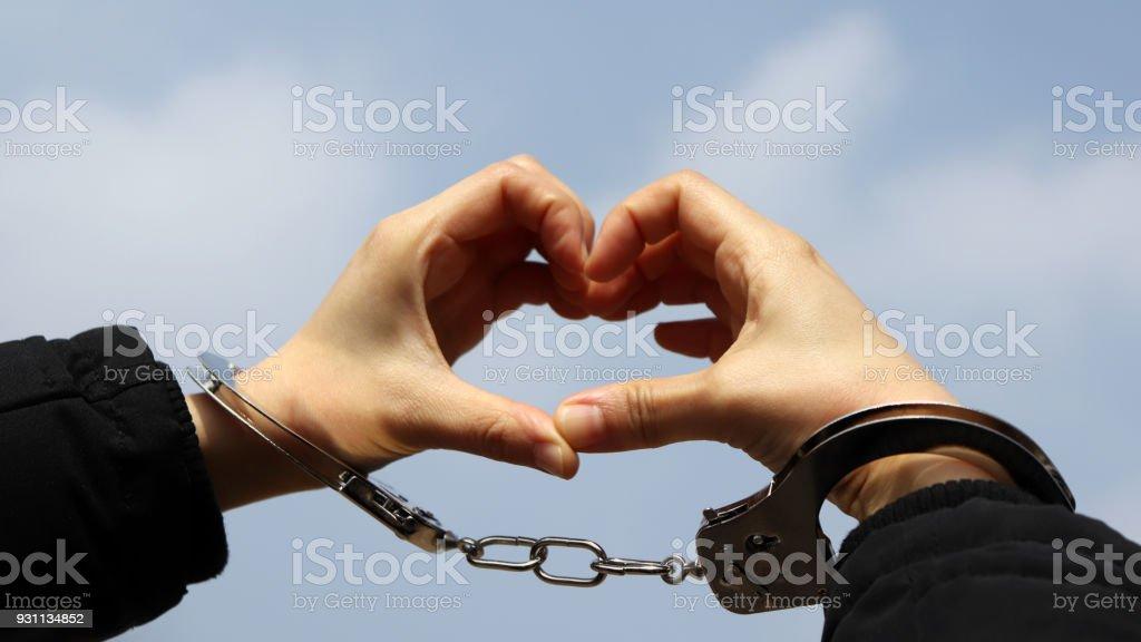 El concepto de confesión de amor. - foto de stock