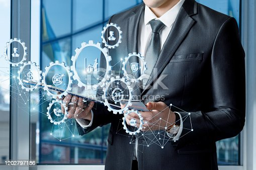 1197953545istockphoto The concept of managing business . 1202797186