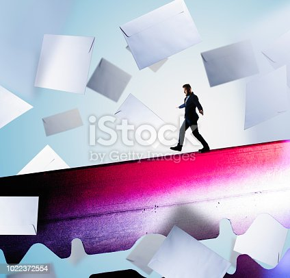 istock The concept of risk. 1022372554