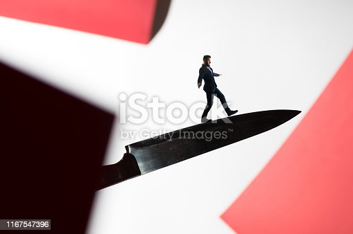 istock The concept of risk. 1167547396