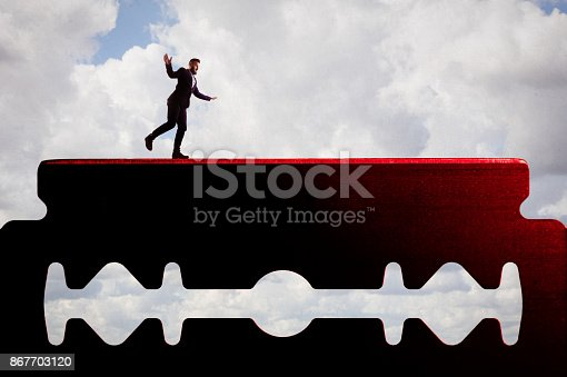 istock The concept of risk. 867703120