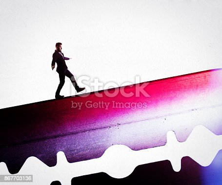 istock The concept of risk. 867703136
