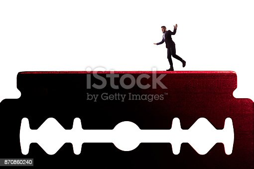 istock The concept of risk. 870860240