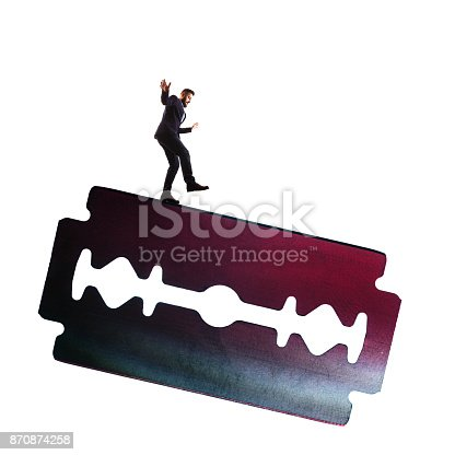 istock The concept of risk. 870874258