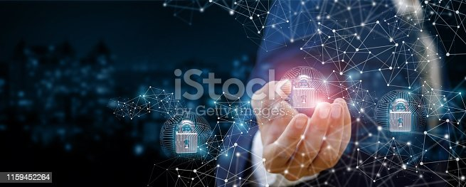 istock The concept of security of urban communication systems. 1159452264