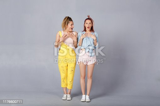 1092709104 istock photo The concept of stylish beautiful young girls 1176600711