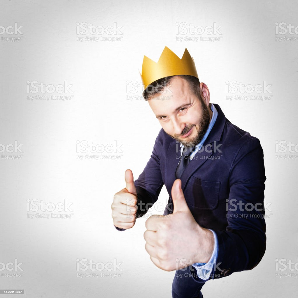 The concept of success. stock photo